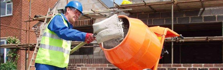 Техника безопасности при работе с цементом