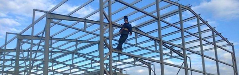 Техника безопасности при строительстве быстровозводимых зданий