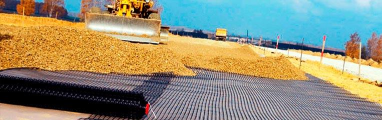 Охрана труда при строительстве дорог с использованием геотекстиля