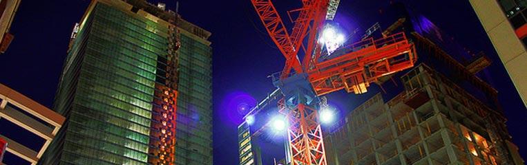 Освещение строительной площадки: современный подход