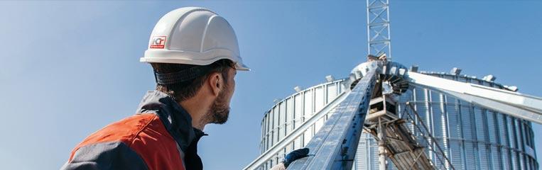Правила техники безопасности при монтаже сооружений