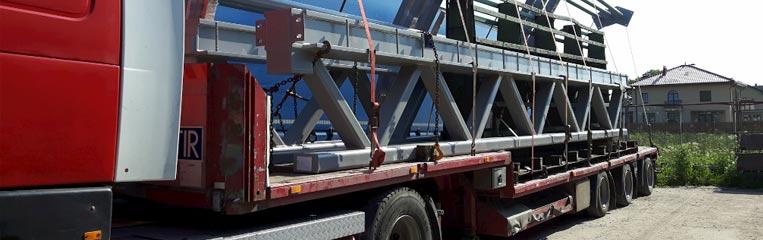 Техника безопасности при перевозке металлоконструкций