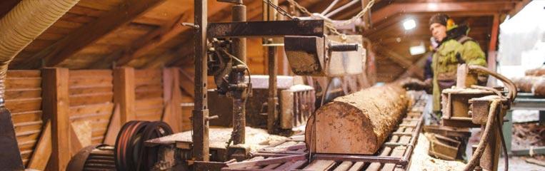 Безопасность труда при работе на пилораме