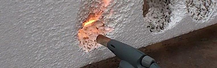 Экструдированный пенополистирол и пожарная безопасность
