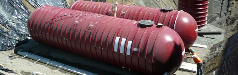 Пожарный резервуар из пластика – решение многих проблем