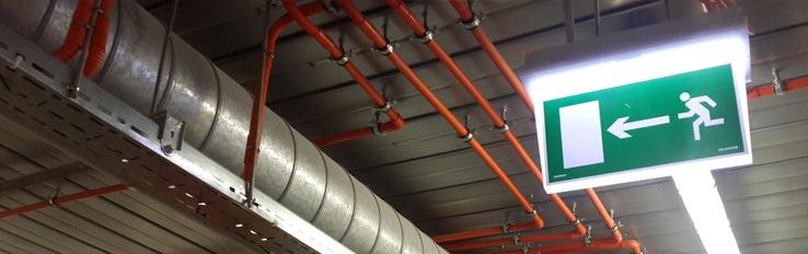 Пожарная безопасность в цехах и складских помещениях