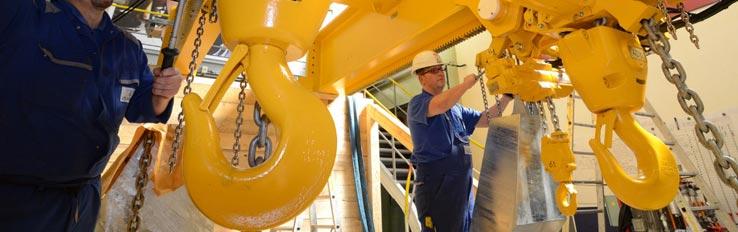 Техника безопасности и охрана труда при эксплуатации грузоподъемного оборудования