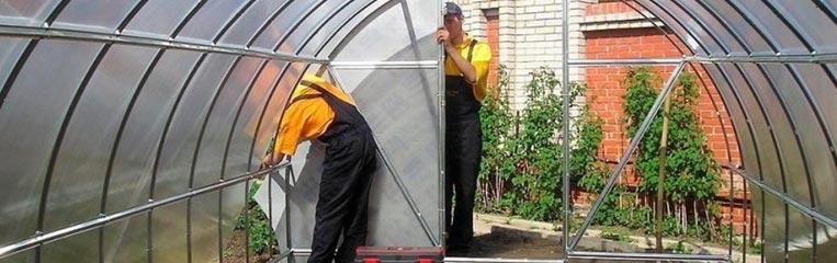 Техника безопасности при строительстве и эксплуатации теплиц из сотового поликарбоната