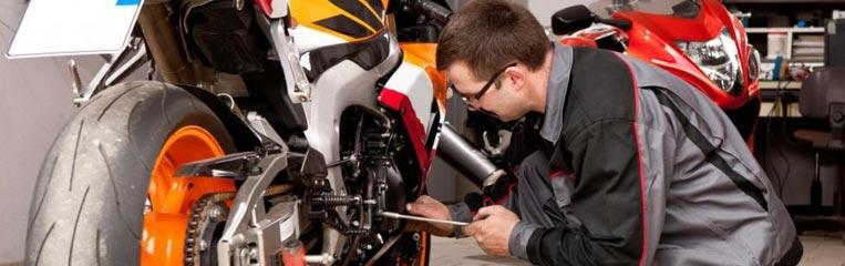 Техника безопасности при обслуживании и ремонте мотоцикла