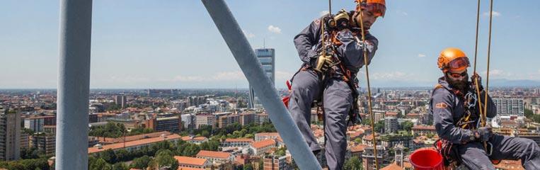 Техника безопасности при высотных работах