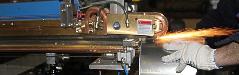 Техника безопасности при работе на машинах контактной сварки