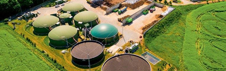 Процесс получения биогаза в искусственных условиях